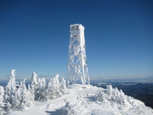 winter-firetower