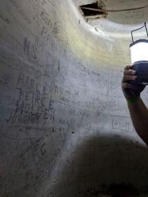 Graffiti on Pump Stairwell