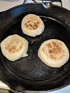 English muffins griddle